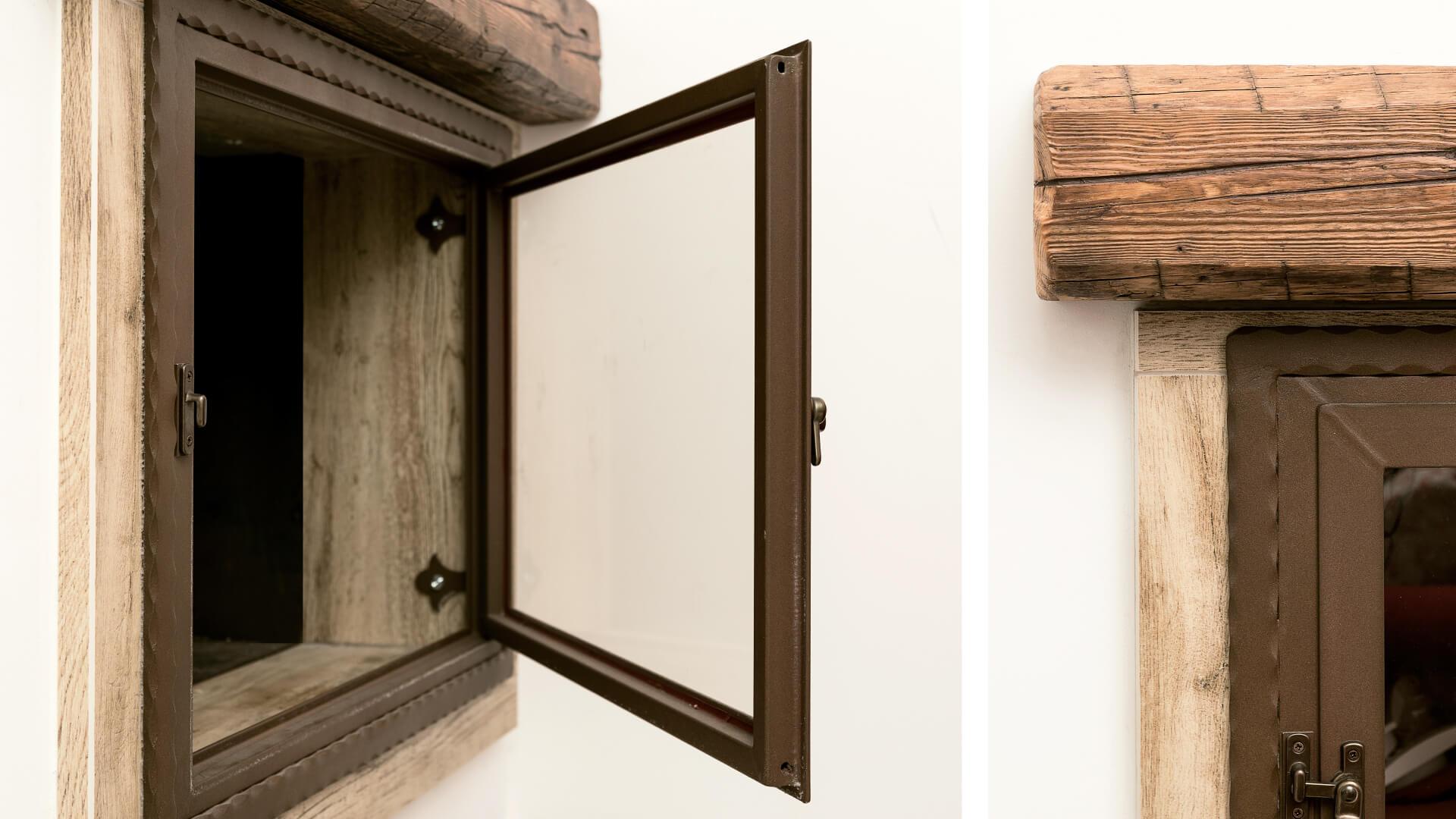 Il camino di design: scegli il tuo rivestimento in grès porcellanato